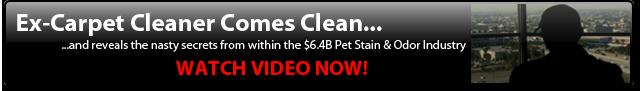 Ex-Carpet Cleaner Comes Clean & Reveals...
