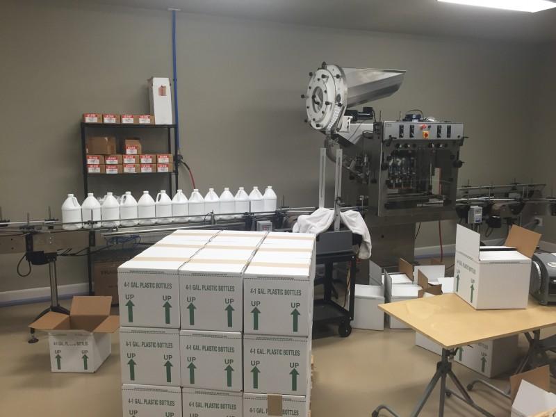 ECO 88 Brands - Bottling Filling Line Part 2